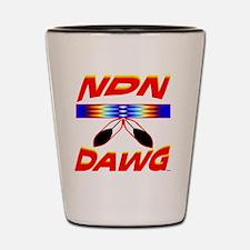 INDIAN DAWG Shot Glass