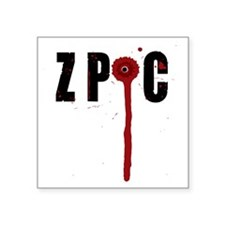 "ZPOC Square Sticker 3"" x 3"""