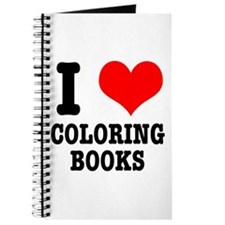 I (Heart) Love Coloring Books Journal
