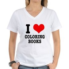 I (Heart) Love Coloring Books Shirt
