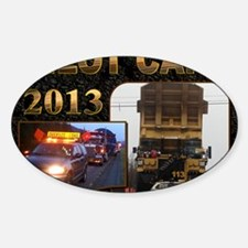 2013 Cover Sticker (Oval)