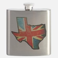 BRIT IN TX Flask