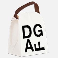 DGAF Black Canvas Lunch Bag