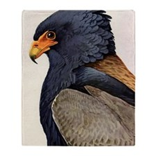 Bateleur Eagle Throw Blanket
