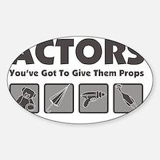 Props Sticker (Oval)