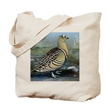 Four Banded Sand Grouse Tote Bag