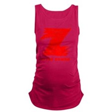 Z is for Zombie Maternity Tank Top