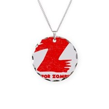 Z is for Zombie Necklace