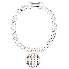 Nutcrackers Charm Bracelet, One Charm