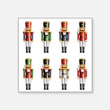 "Xmas_NutCrackers Square Sticker 3"" x 3"""