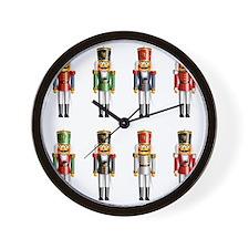 Xmas_NutCrackers Wall Clock