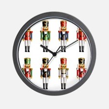 Xmas_NutCrackers Wall Clock