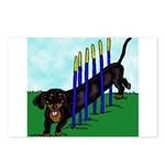 An Agility Dachshund? Postcards (Package of 8)