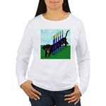 An Agility Dachshund? Women's Long Sleeve T-Shirt