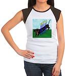 An Agility Dachshund? Women's Cap Sleeve T-Shirt
