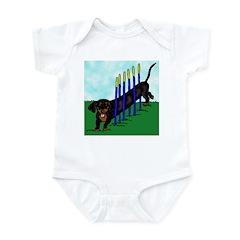 An Agility Dachshund? Infant Bodysuit