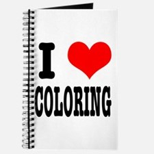 I Heart (Love) Coloring Journal