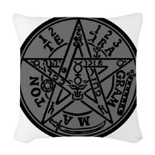 TETRAGRAMMATON Woven Throw Pillow