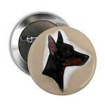 Manchester Terrier Button