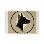 Manchester Terrier Rectangle Magnet (100 pack)