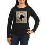 Manchester Terrier Women's Long Sleeve Dark T-Shir