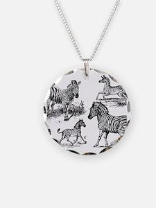 Zebras Necklace