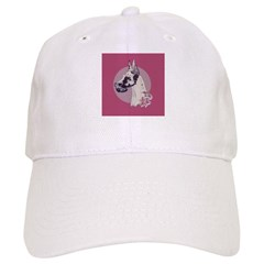 A lovely Harlequin Great Dane Cap