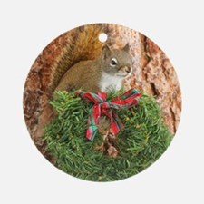 Christmas Friend Round Ornament