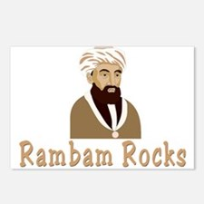 The Rambam Rocks Postcards (Package of 8)