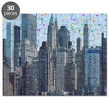 Manhattan Meteor Shower Puzzle
