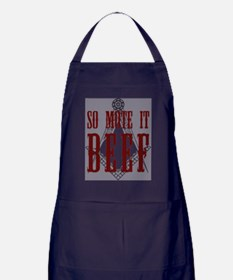 So Mote it Beef Apron (dark)