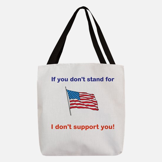 Athletes - Respect our American Flag Polyester Tot