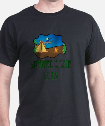 summer camp 2013 truck stop novelty t T-Shirt