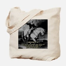 George Washington 2nd Amendment Tote Bag