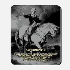 George Washington 2nd Amendment Mousepad
