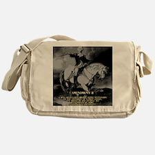 George Washington 2nd Amendment Messenger Bag
