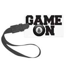 Game On Billiards Luggage Tag