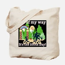 100th day-out of my way BL Tote Bag