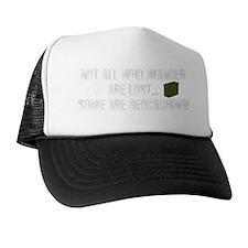 Wander, Dark Apparel Trucker Hat