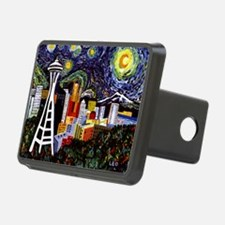 Seattle Starry Night Hitch Cover