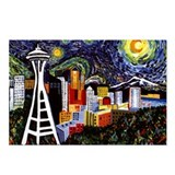 Cities seattle Postcards
