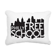 PFS Logo Rectangular Canvas Pillow