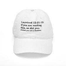 I SURVIVED 12-21-12 Baseball Cap