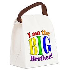 Big Brother Rainbow Canvas Lunch Bag