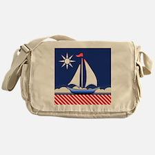 sailboat Messenger Bag