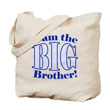 Big Brother Blue Tote Bag