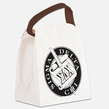 Sigma Delta Chi Canvas Lunch Bag