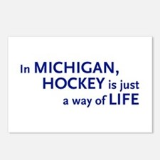 Hockey Michigan Postcards (Package of 8)