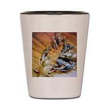 Crayfish Tango Shot Glass
