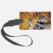 Crayfish Tango Luggage Tag